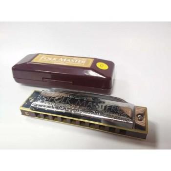 Gaita Blues Diatônica Suzuki Folkmaster modelo 1072
