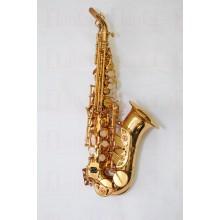 Sax Soprano Curvo Dolphin Laqueado Si Bemol