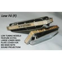 Gaita Blues Diatônica Suzuki Manji M-20 Low Fá (NLF)