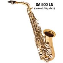 Sax Alto Eagle SA500LN Laqueado com Chaves Niqueladas