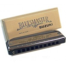 Gaita Blues Suzuki MR-250 Bluesmaster 10 Furos