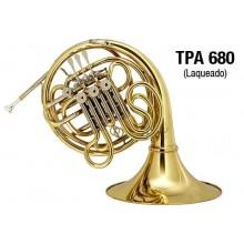 Trompa Eagle Fá / Si Bemol Laqueada TPA 680